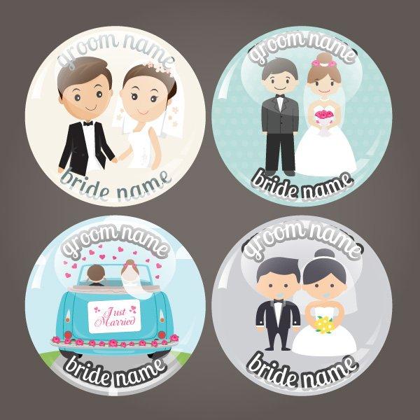 Κονκάρδες γάμου