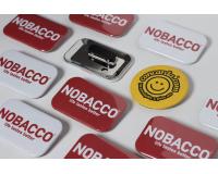 Κονκάρδες προσωπικού Nobacco