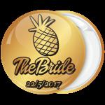 Kονκάρδα bachelorette The Bride ανανάς χρυσή κολεξιόν