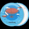 Κονκάρδα Αερόπλοιο στον ουρανό
