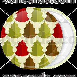 Κονκάρδα Χριστουγέννων Patterns Xmas leaves
