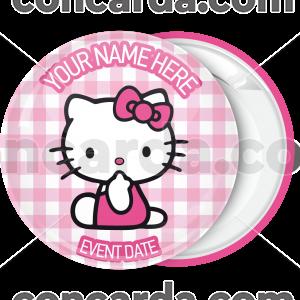 Κονκάρδα βάπτισης Hello Kitty suprice