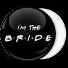 Κονκάρδα I am the bride friends edition μαύρη