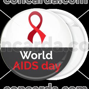 Κονκάρδα world Aids Day black white