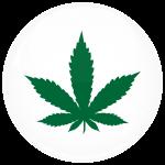 Κονκάρδα μαριχουάνα σύμβολο λευκή
