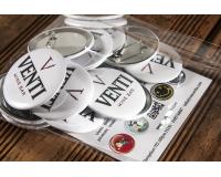 Διαφημιστικές κονκάρδες Venti Wine Bar