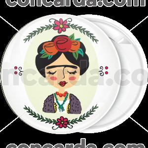 Κονκάρδα Φρίντα Κάλο λευκή