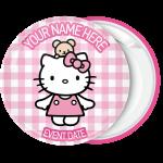 Κονκάρδα βάπτισης Hello Kitty teddy bear