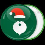 Πράσινη Κονκάρδα Χριστουγέννων Santa hat back