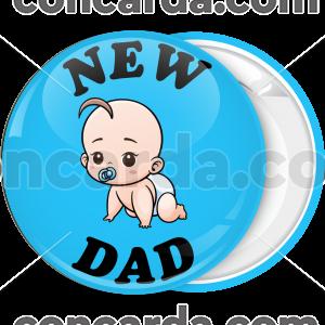 Κονκάρδα new dad baby μπλε