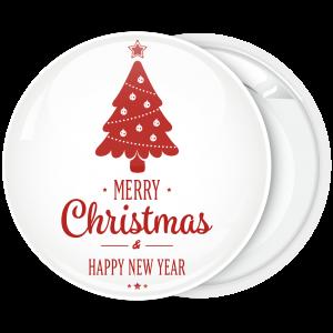 Κλασσική κονκάρδα κόκκινο Χριστουγεννιάτικο δέντρο