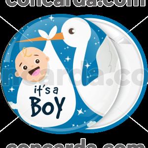 Κονκάρδα its a boy πελαργός