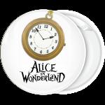 Κονκάρδα Clock Αλίκη στη χώρα των θαυμάτων