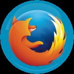 Κονκάρδα Firefox logo