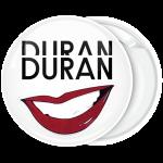 Κονκάρδα Duran Duran mouth λευκή