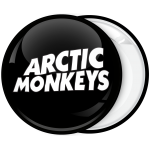 Κονκάρδα Arctic Monkeys logo μαύρη