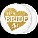 Kονκάρδα Team Bride χρυσή καρδιά