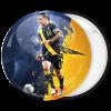 Αθλητική κονκάρδα Ibrahimović μπλέ κίτρινο