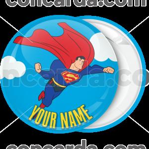 Kονκάρδα βάπτισης Superman flying down