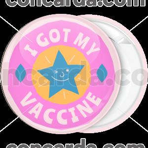 Κονκάρδα I got my vaccine star