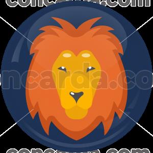 Κονκάρδα Ζώδια Λέων blue collection