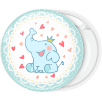 Κονκάρδα γέννησης blue elephant