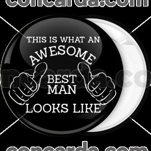 Κονκάρδα Awesome Best Man
