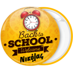 Κονκάρδα back to school clock