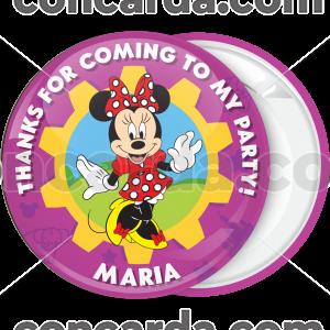 Κονκάρδα Minnie Mouse κόκκινος πουά φιόγκος