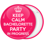 Κονκάρδα Keep Calm Bachelorette party in Progress