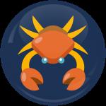 Κονκάρδα Ζώδια Καρκίνος blue collection