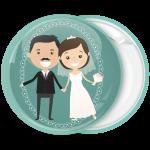 Κονκάρδα γάμου Vintage Couple