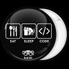 Κονκάρδα Eat Sleep Code Geek life