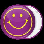 Μωβ Κονκάρδα Smiley retro style