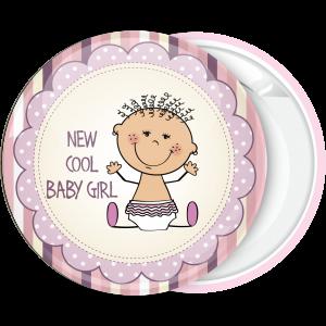 Κονκάρδα για γέννηση New cool baby girl