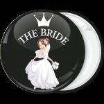 Μαύρη κονκάρδα γάμου The Bride crown
