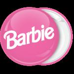 Κονκάρδα Barbie logo ροζ