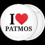 Σουβενίρ κονκάρδα I Love Patmos