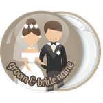 Κονκάρδα γάμου Classic couple