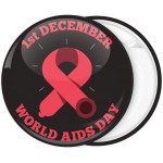 Κονκάρδα world Aids Day black