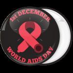 Κονκάρδα world Aids Day black