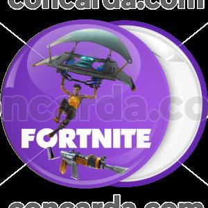 Κονκάρδα Fortnite αλεξίπτωτο μωβ