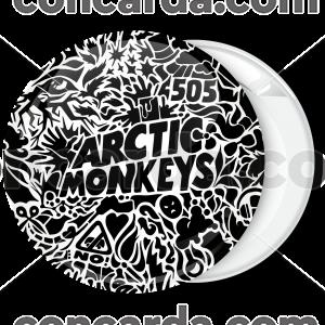 Κονκάρδα Arctic Monkeys logo 505