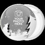 Κονκάρδα Χριστουγεννιάτικο Photo booth snow city