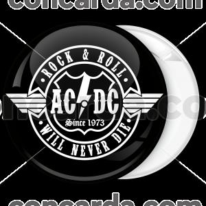 Rock Κονκάρδα AC DC will never die