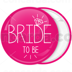 Kονκάρδα Bride to be διαμάντι