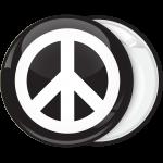 Κονκάρδα Peace μαύρη