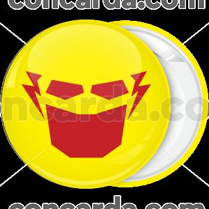 Κονκάρδα Flash μάσκα κίτρινη