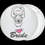 Κονκάρδα γάμου Bride Cartoon