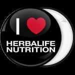 Κονκάρδα I Love Herbalife Nutrition μαύρη